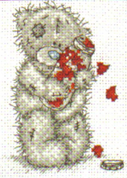 Me To You Tatty Teddy Lots of Love Cross Stitch Kit